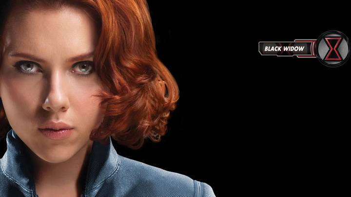 The Avengers – Scarlett Johansson As Black Widow Looking Front